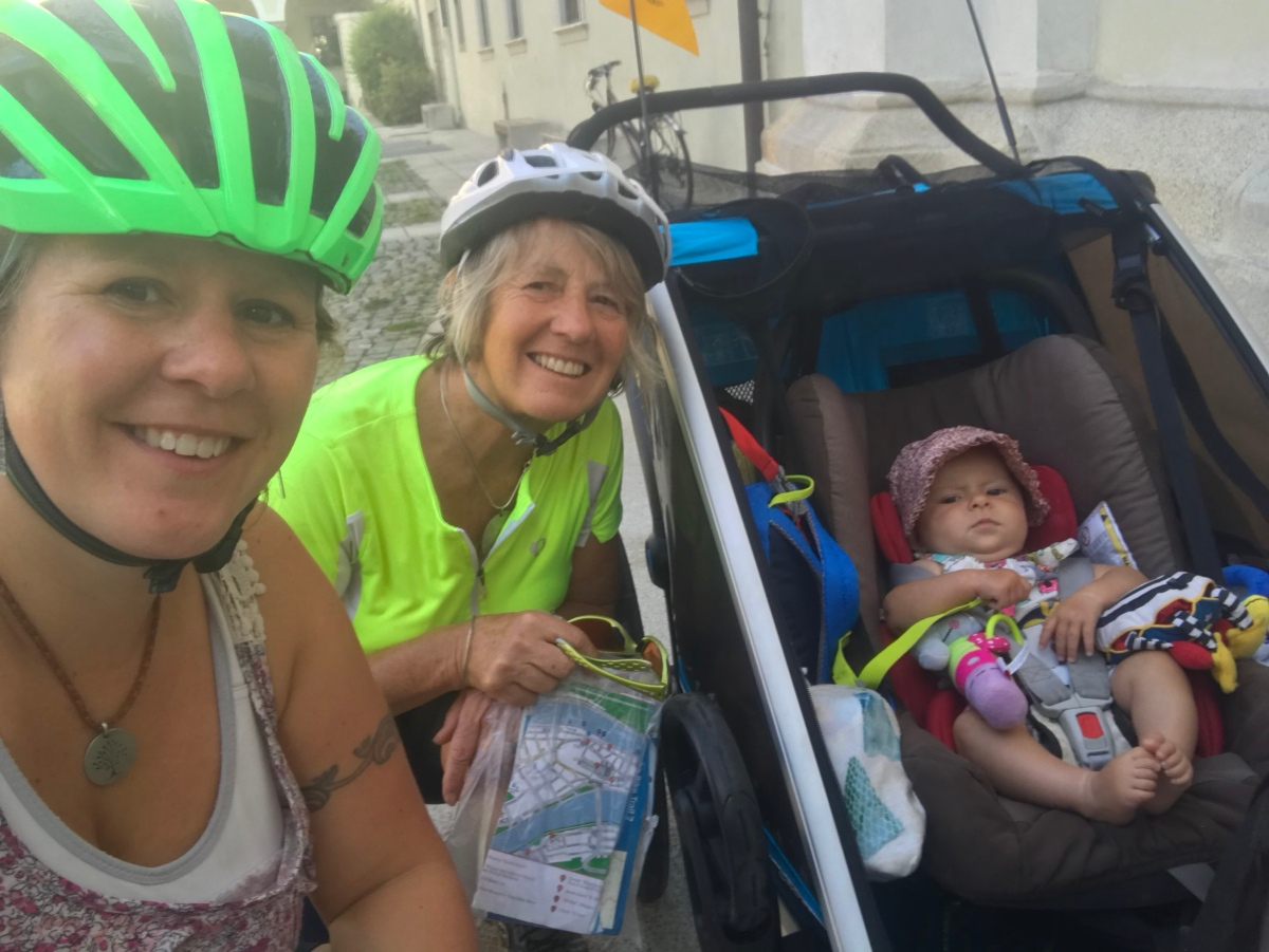 Passau to Mühldorf 22/08/18 – 67km is a long way with a baby!