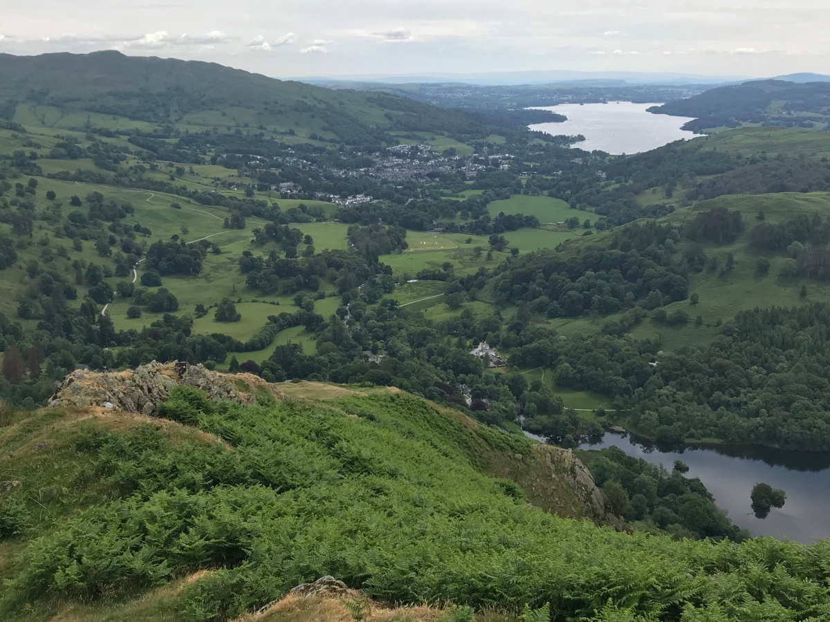 Nab Scar and Heron Pike 08/06/18